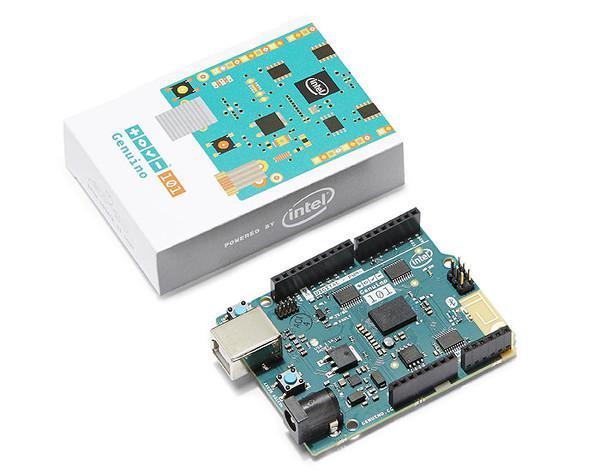 Intel Curie modülü tabanlı ilk geliştirici kartı Genuino 101 tanıtıldı