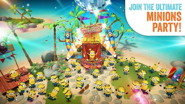 EA Games imzalı Minions Paradise indirmeye sunuldu