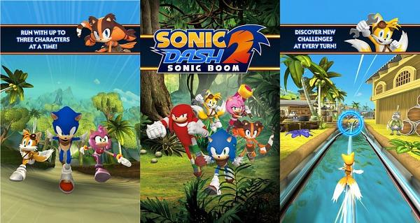 Sonic Dash 2 Android'e geldi