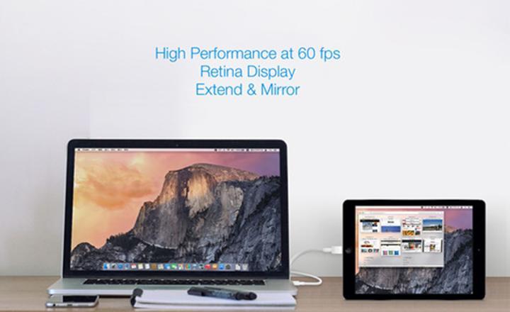 iOS cihazları harici ekran haline getiren