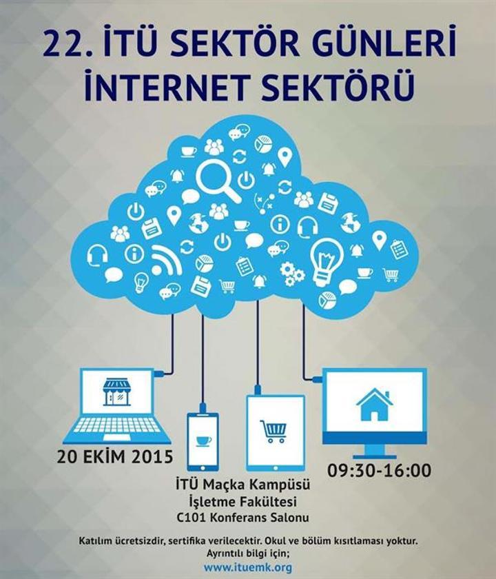22. İTÜ Sektör Günleri internet sektörü ayağı