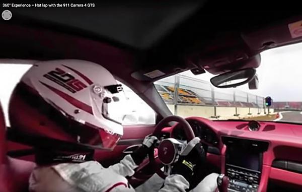 Porsche'den 360 derecelik