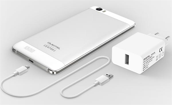 6000 mAh bataryalı Oukitel K6000'in teknik özellikleri ve fiyatı belli oldu