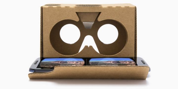 New York Times alana Google Cardboard bedava