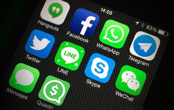 Mesajlaşma yazılımlarında rekabet Asya ile Amerika arasında geçiyor