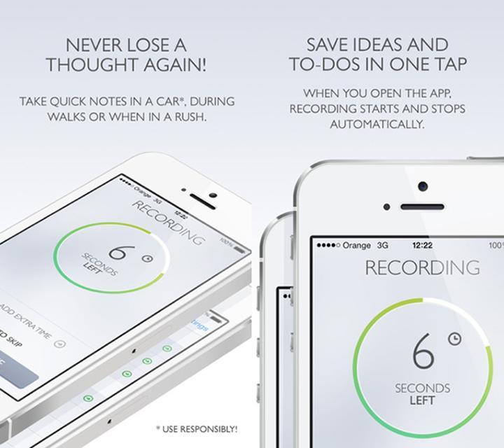 Hızlı notlara özel Say&Go Memo Recorder ücretsiz yapıldı