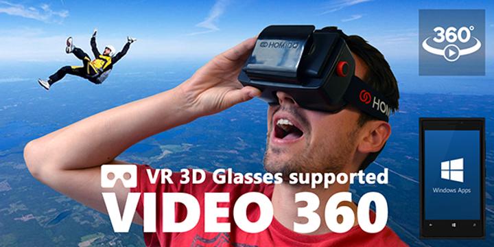 360 derecelik video uygulaması