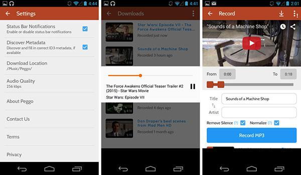 Peggo, Android uygulamasını kullanıma sundu