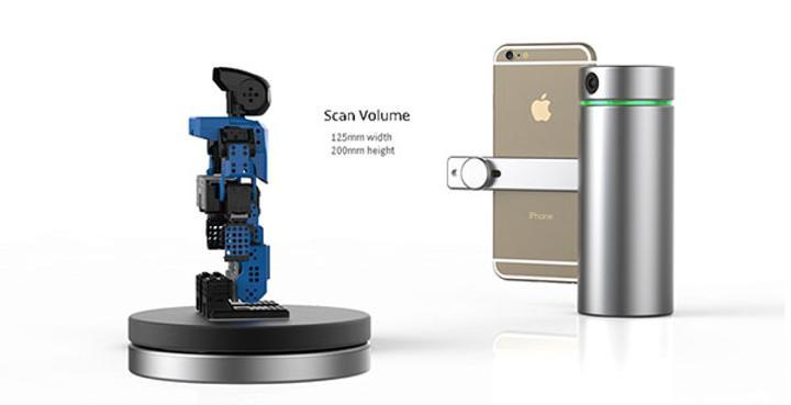 Akıllı telefonlar ile 3D tarama dönemi