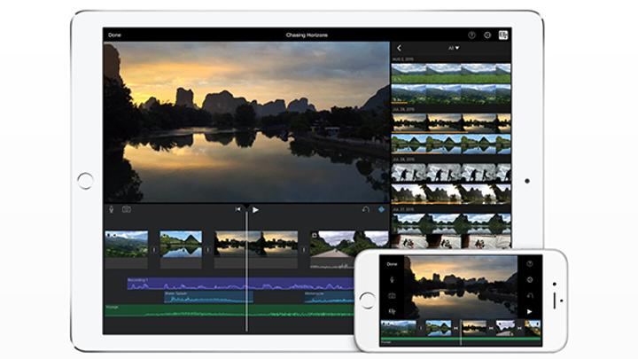 Apple, iOS için iMovie'nin 4K desteğini genişletti