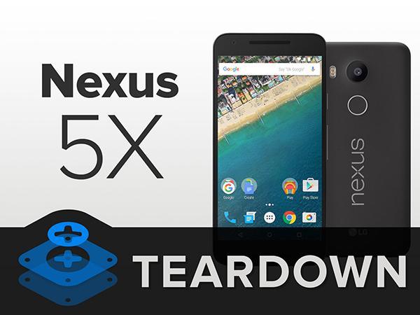 iFixit, Nexus 5X'i masaya yatırdı