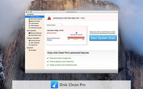 Gelişmiş disk temizleme uygulaması Disk Clean Pro ücretsiz yapıldı