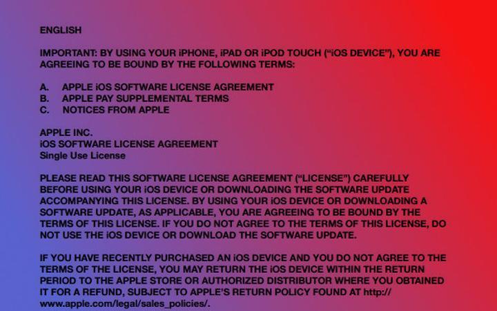 iOS işletim sistemi tüketiciye satılmıyor aksine lisanslanıyor