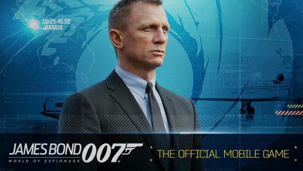James Bond heyecanı mobilde devam ediyor