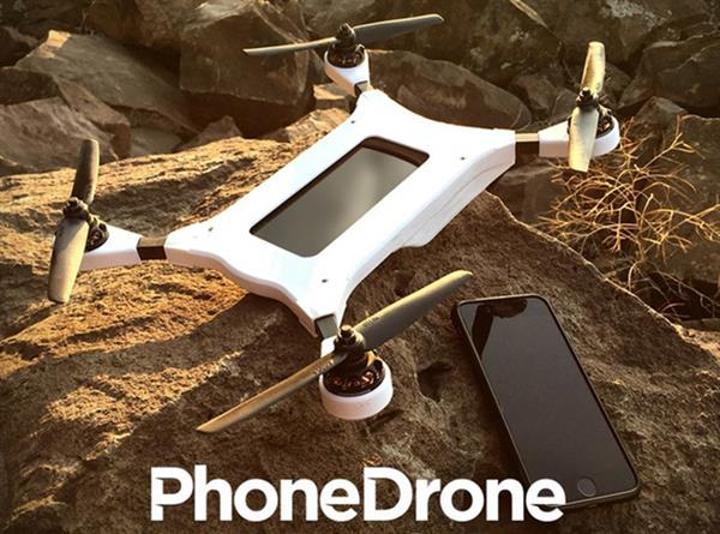 Gücünü akıllı telefonlardan alan drone: PhoneDrone Ethos