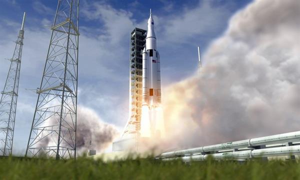NASA tarihin en güçlü roketinin yapımına başlıyor