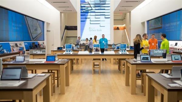 Microsoft'un ilk amiral gemisi mağazası açılışını yaptı
