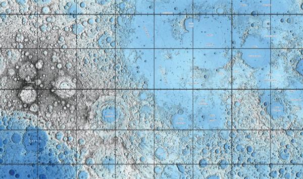 Ay'ın detaylarını gösteren yeni haritalar yayınladı