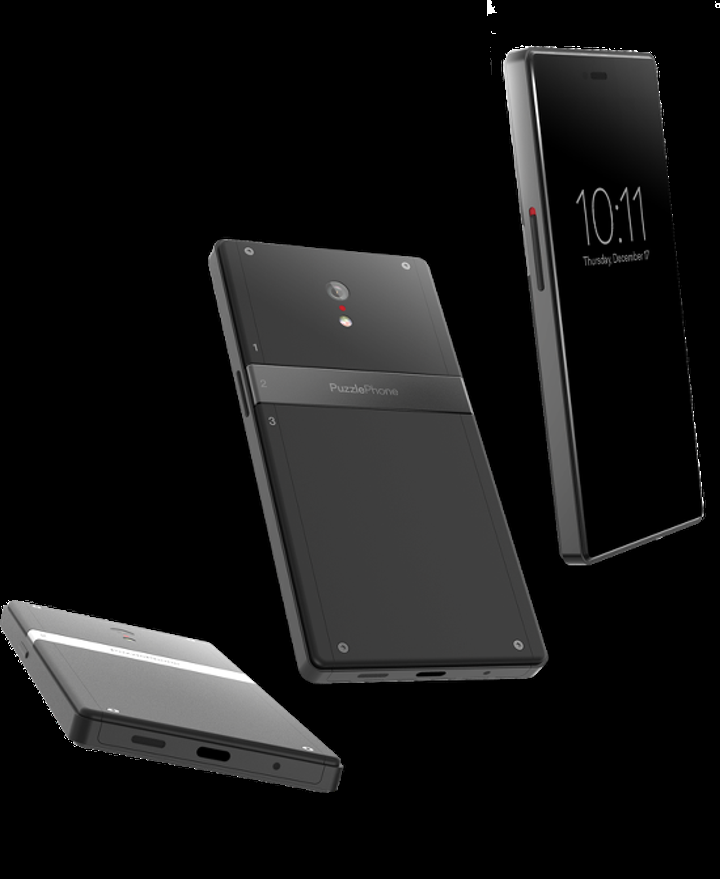 Modüler telefon konseptine bulmacalı yorum