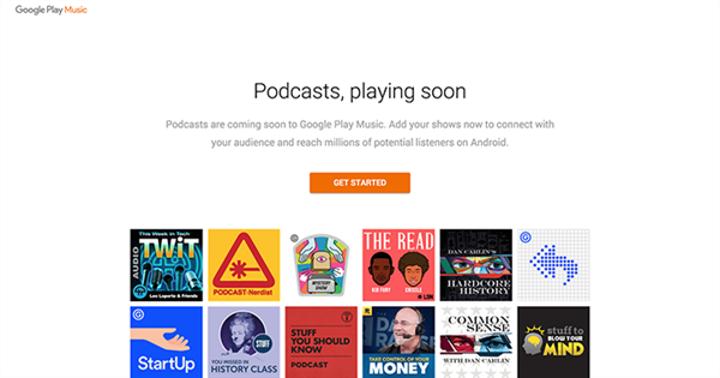 Google, Play Music Podcast'i duyurdu