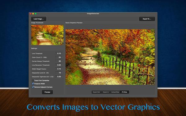 Fotoğrafları vektöre çeviren yeni uygulama: ImageVectorizer