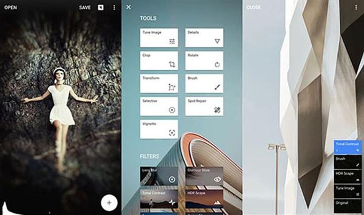 Android için Snapseed'e önemli destek