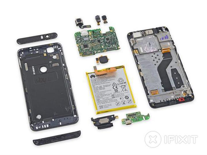 iFixit, Nexus 5X'den sonra 6P'yi de parçalarına ayırdı