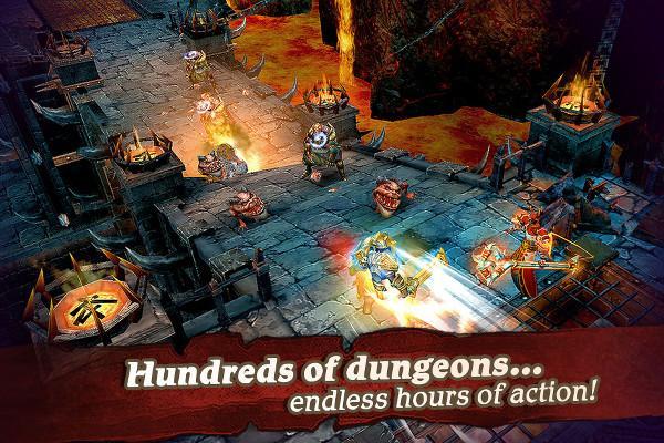 MMORPG türüne yeni heyecan : Clash for Dawn