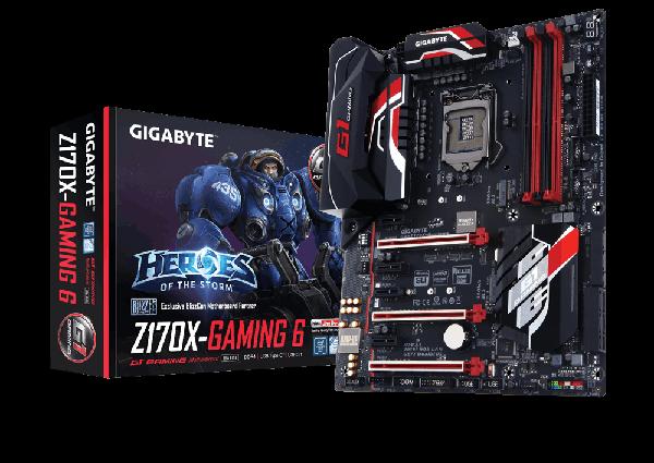 Gigabyte oyunculara yönelik GA-Z170X-Gaming 6 anakartını tanıttı