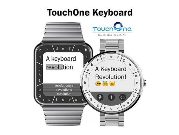 Kickstarter'ı ziyaret eden akıllı saat klavyesi