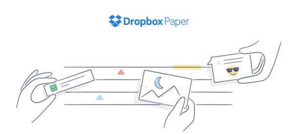 Dropbox Paper 2016'da geliyor