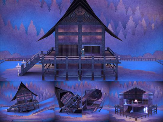 Japon temalı bulmaca oyunu Tengami Android platformunda