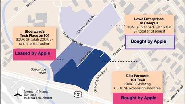 Apple devasa bir kampüs inşa etmeye hazırlanıyor