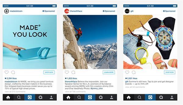 Instagram'a reklamlar için 3D Touch ve Apple Pay desteği