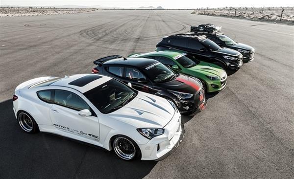 Hyundai, SEMA Fuarı için hazırladığı otomobillerini tanıttı