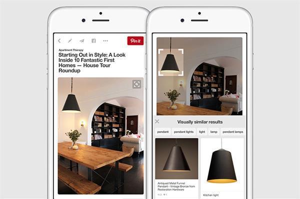 Pinterest'e yeni görsel arama aracı