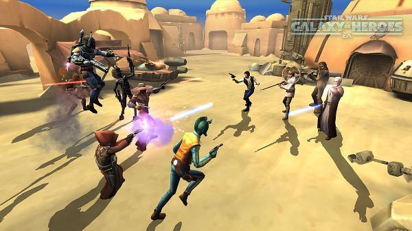 Star Wars: Galaxy of Heroes ön kayıtlara başladı