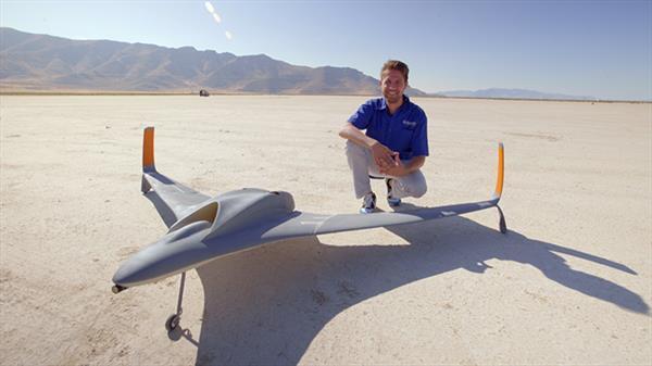 3D yazıcıyla üretilmiş ilk jet motorlu drone