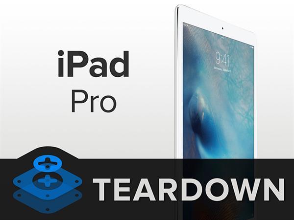 iPad Pro iFixit'e konuk oldu