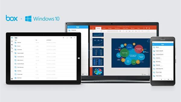 Box'un evrensel Windows 10 uygulaması geldi