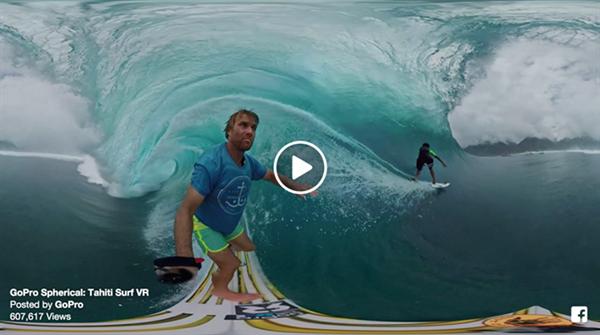 GoPro'dan yeni 360 derecelik video