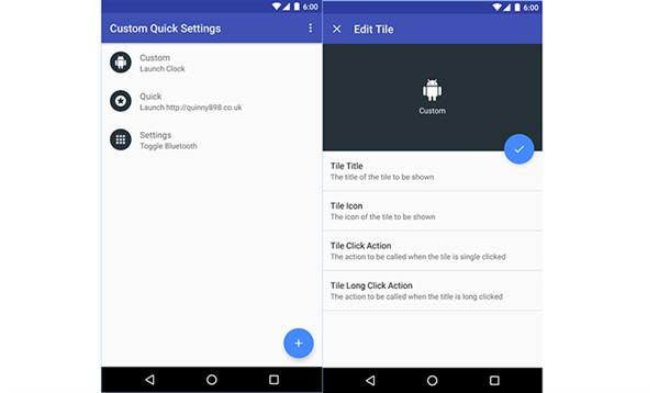 Android telefonunuzun hızlı ayar menüsünü geliştirin