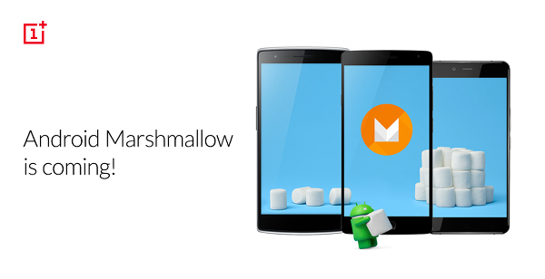 OnePlus cihazları için Android 6.0 Marshmallow güncellemesi