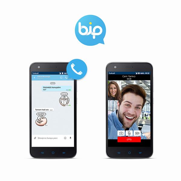 BiP'te sesli ve görüntülü arama dönemi