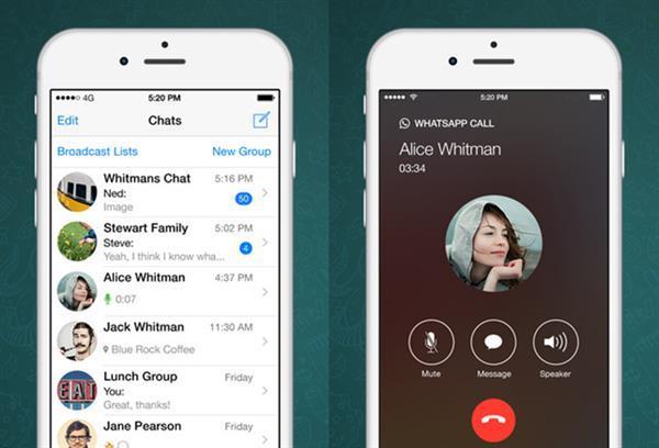 iOS için WhatsApp'a 3D Touch desteği