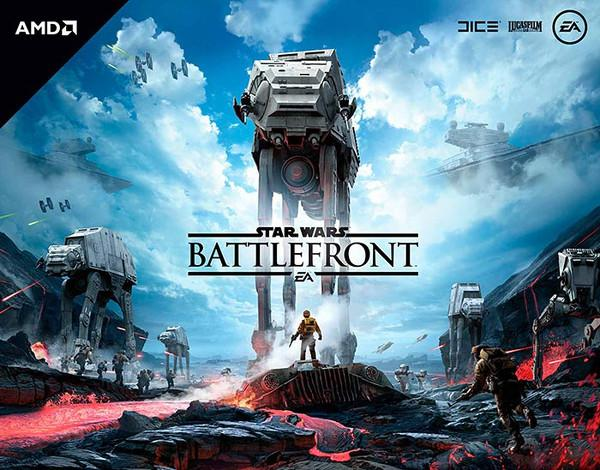 AMD Radeon R9 Fury alana Star Wars: Battlefront hediye