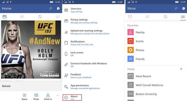 Windows 10 Mobile için Facebook resmen kullanıma sunuldu