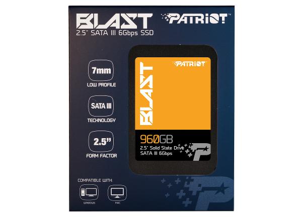 Patriot Memory BLAST SSD: Hem ucuz hem hızlı