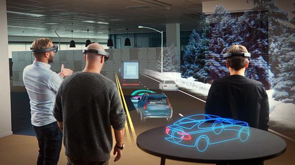 Microsoft ile Volvo'dan etkileyici işbirliği