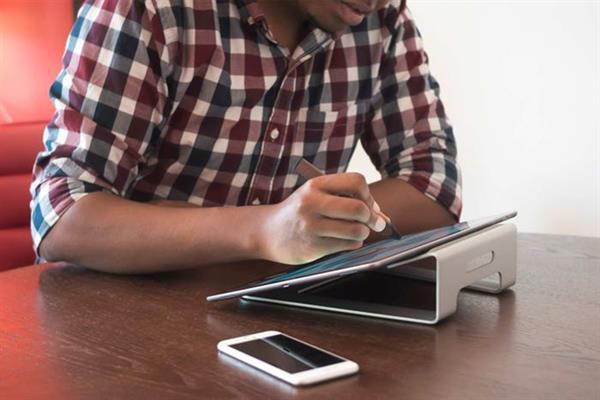 iPad Pro'ya ergonomik stand